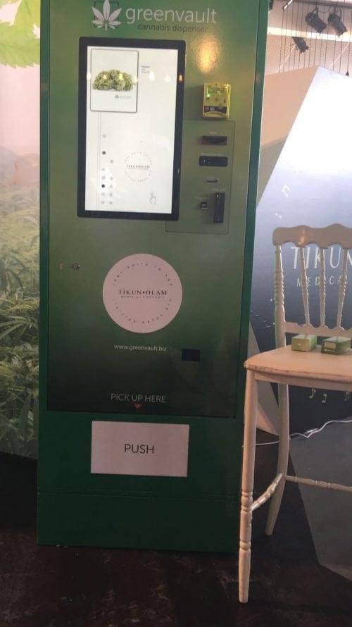 מכונת קנאביס אוטומטית תיקון עולם