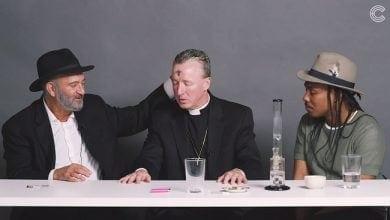 Photo of כשכומר, רב ואתאיסט מעשנים מריחואנה
