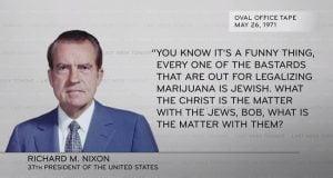 ג'ון אוליבר ריצ'רד ניקסון יהודים מריחואנה