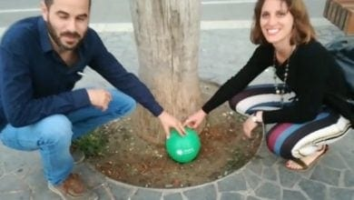 אנטונלה סולדו ואורן ליבוביץ, שותלים זרע קנאביס בתל אביב