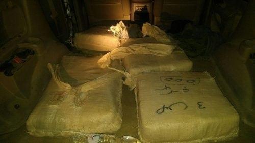 תפיסת 100 קילוגרם חשיש ישראל-מצרים