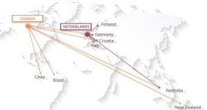 מפת המסחר הבינלאומי בקנאביס רפואי