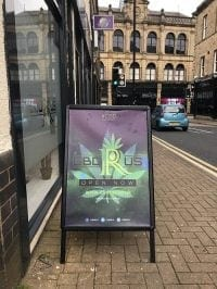 First time in the UK: CBD shop