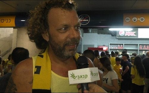 Beitar fan is talking1