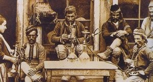 A coffee shop in the Ottoman period