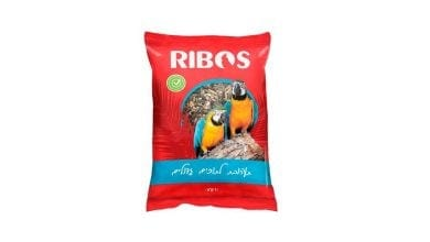 Food ribos for large parrots - contains Hemp seeds