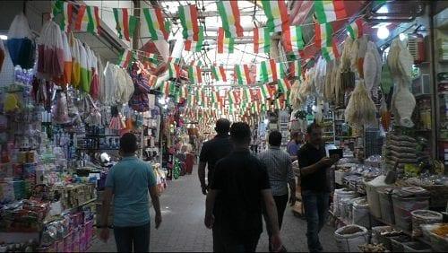השוק של מחוז דהוכ