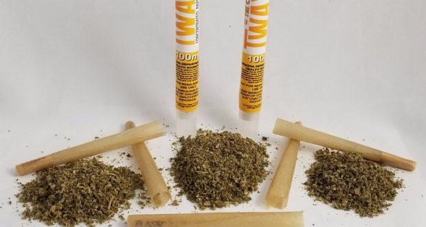 ניירות גלגול THC