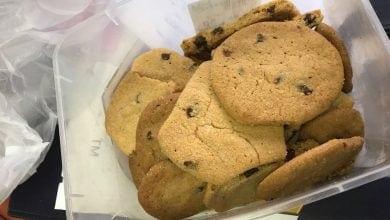 Photo of עוגיות נתפסו בפשיטה על ביתו של סוחר טלגראס
