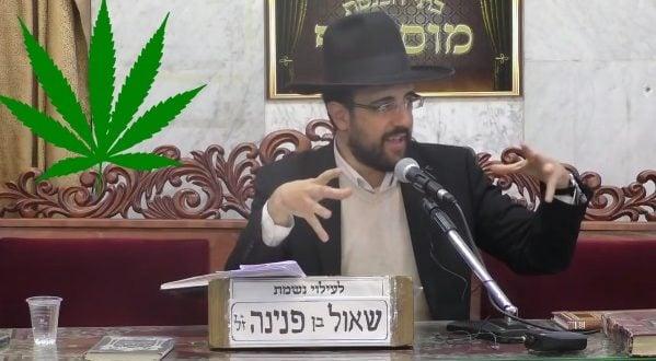 Rabino Meir Eliyahu - Marihuana