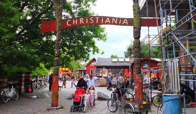 כריסטיאניה העיר החופשית: ביקור בקופנהגן דנמרק