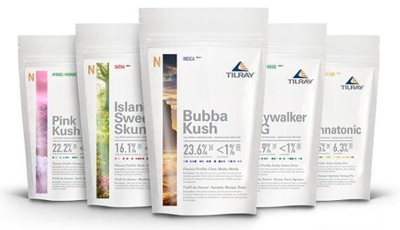 Productos de cannabis Tillray