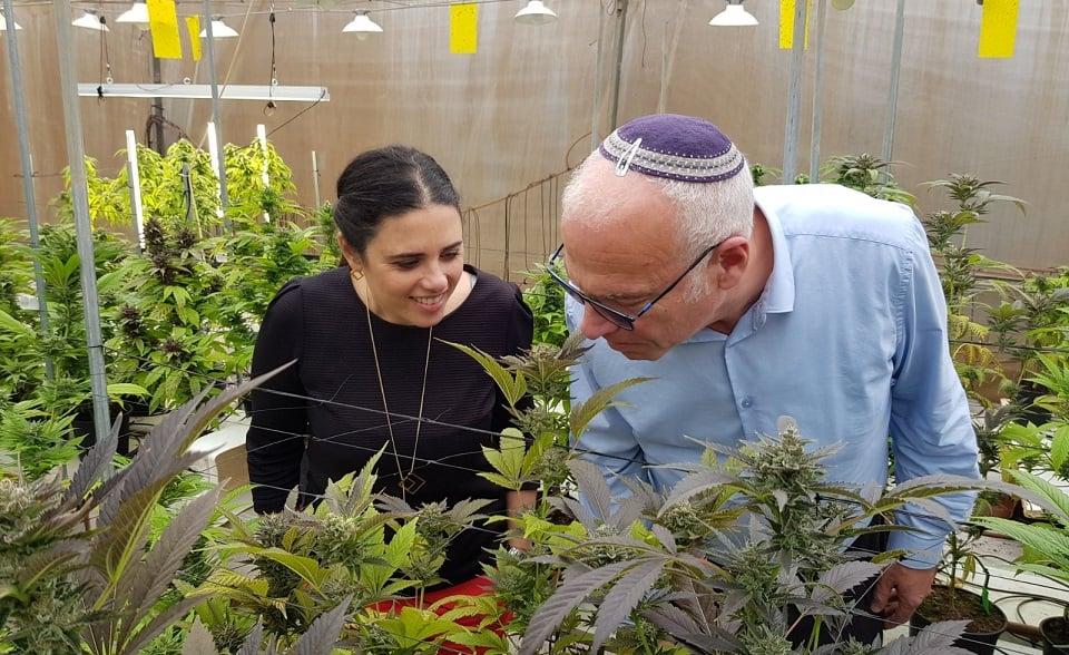 שרי הבית היהודי ביקרו בחוות קנאביס רפואי