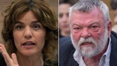 Ilan Gilon and Tamar Zandberg (Photo: Hadas Porush and Miriam Elster / Flash 90)