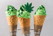 חדש בישראל: גלידה בטעם קנאביס