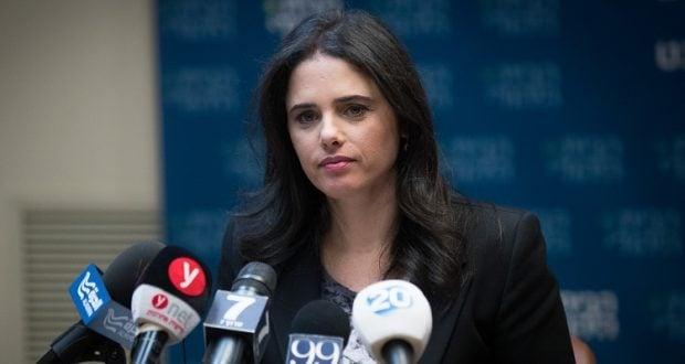 Ayelet Shaked, Justizminister (Foto: Jonathan Zindel, Flash 90)