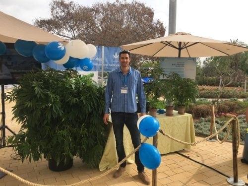 צמחי קנאביס בכנס ממשלתי