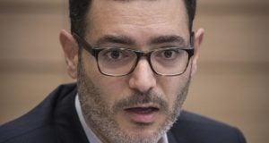 Moshe Bar Siman Tov Director-General of the Ministry of Health (Photo: Hadas Porush, Flash 90)