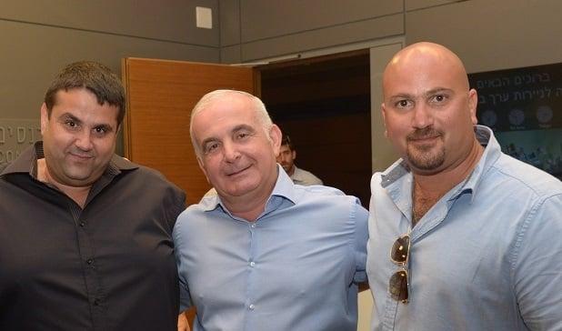 מנהלי חברת טוגדר: ניר סוסינסקי, נסים ברכה, גיא עטיה (צילום: יחצ)