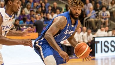 Richard Howell, Hapoel Jerusalem player and Israel basketball team (Photo: Flash 90)
