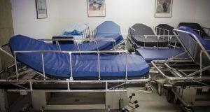 מיטות בית חולים (צילום: הדס פרוש, פלאש90)
