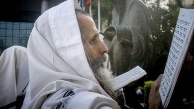 Rabbi Eliezer Berland Breslev (Photo: Roni Shutzer, Flash 90)