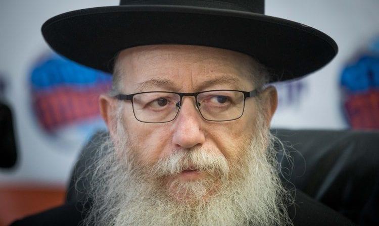יעקב ליצמן (צילום: יונתן סינדל)