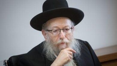 יעקב ליצמן (צילום: מרים אלסטר)