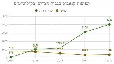 Photo of עלייה חדה בהברחות קנאביס ממצרים לישראל