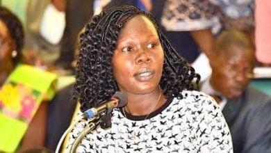 אוולין אניט, שרת הכלכלה של אוגנדה