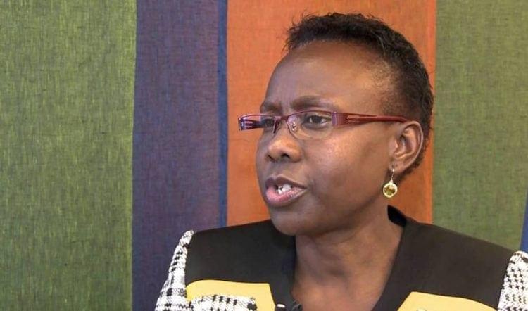 ג'יין אצ'נג, שרת הבריאות של אוגנדה (צילום מסך: יוטיוב)