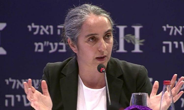 Anat Gueta, Head of Israel Securities Authority (screenshot: YouTube)