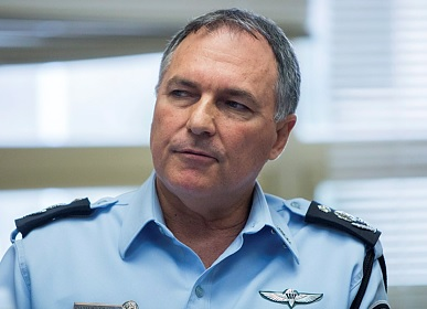 Former police commissioner Yohanan Danino, who is now chairman of the cannabis company