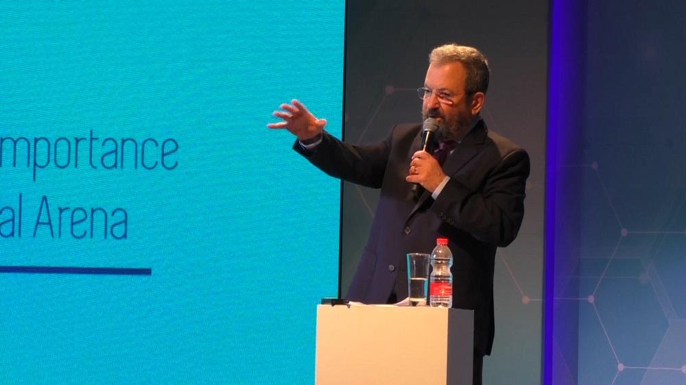 "Ehud Barak at the """