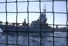 ספינת קרב חיל הים צבא (צילום: אביר סולטן, פלאש90)