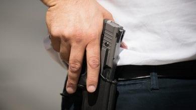 Gun (Photo: Jonathan Sindall, Flash 90)