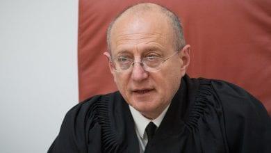 القاضي أليكس شتاين (تصوير: جوناثان سيندال ، فلاش 90)