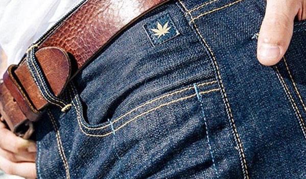 Levi's Jeans Canapa di canapa
