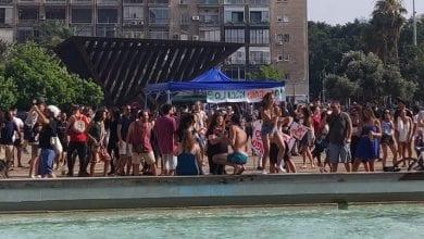 "Photo of 2,000 במסיבת טראנס בכיכר רבין במחאה על סגירת פסטיבל ""דוף"""