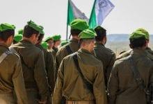 """חיילי צה""""ל חטיבת נח""""ל (צילום: יונתן סינדל, פלאש90)"""