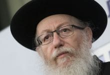 Yaakov Litzman (Photo: Yonatan Sindal, Flash 90)