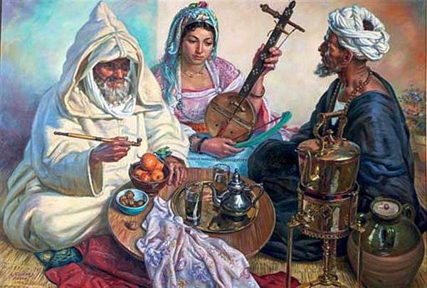 Pipe Sabsi à côté de la théière
