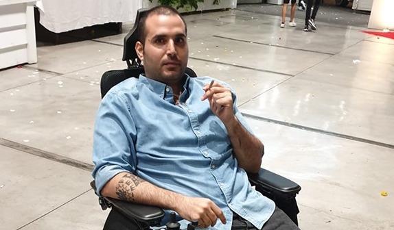 Tal Aharon, disabled medical cannabis patient