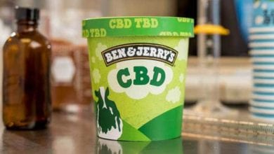 Ben & Jerry's CBD Ice Cream (simulazione)