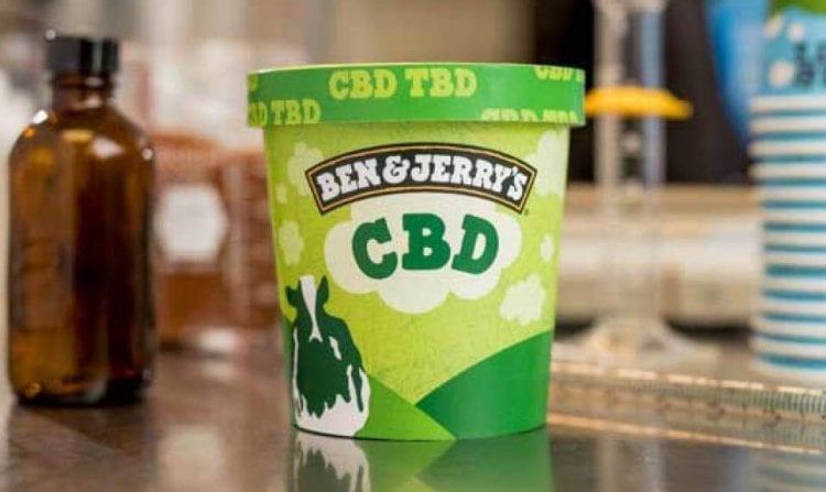 גלידת CBD של בן אנד ג'ריס (סימולציה)