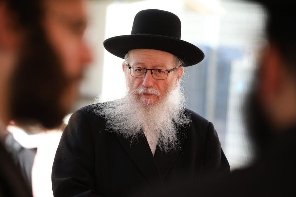 יעקב ליצמן (צילום דוד כהן, פלאש90)