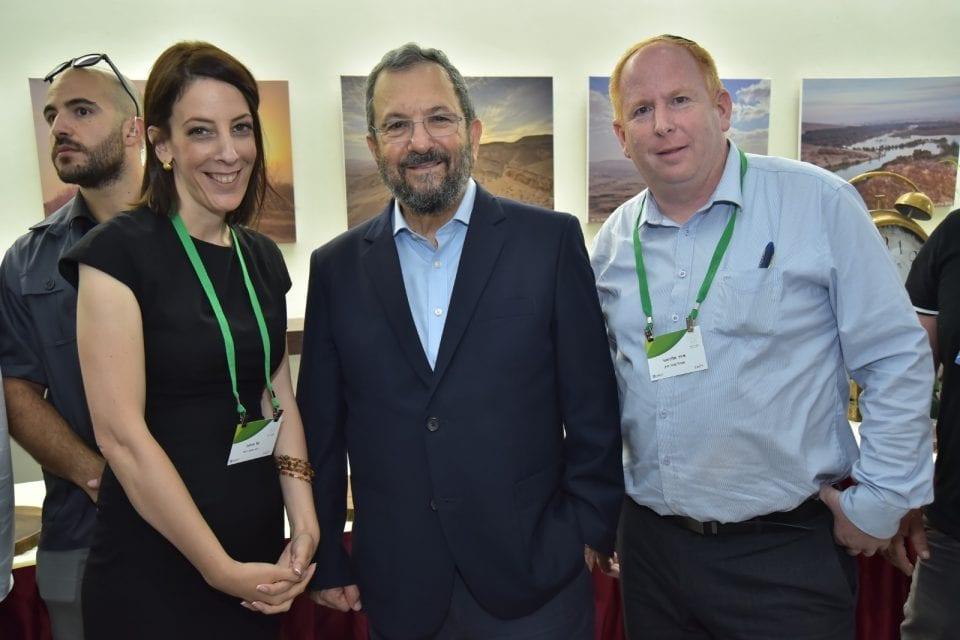 Tal Ohana, Ehud Barak, Itai Melchior