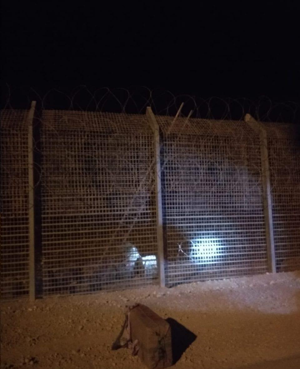 נסיון הברחת חשיש גבול מצרים