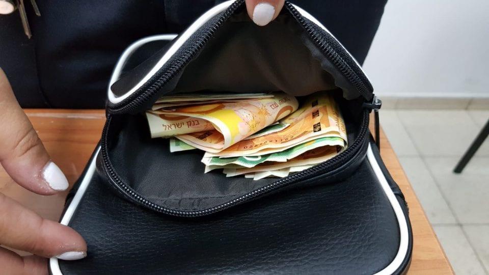 כסף מזומן אצל סוחר
