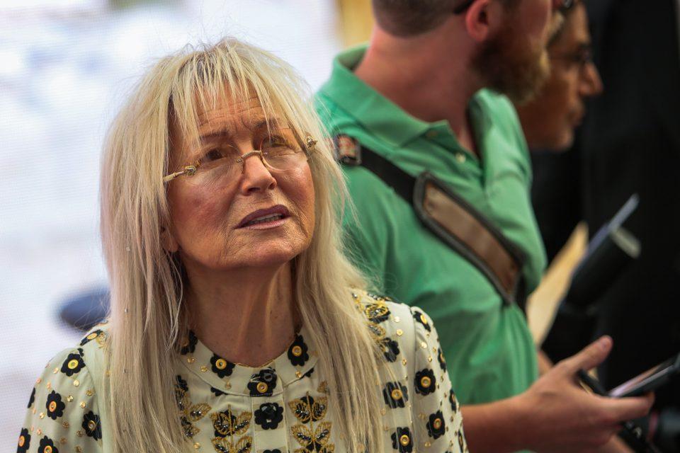 מרים אדלסון (צילום: פלאש90)